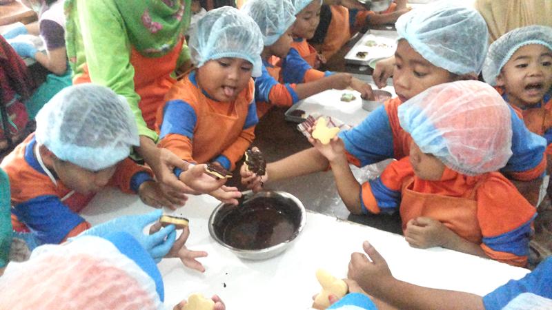 Kids Cooking Class Bersama Nituty Cookies