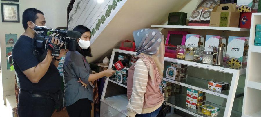 Liputan Nituty Cookies oleh CNN Indonesia
